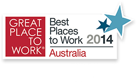 Nominated as a Great Place to Work in 2014